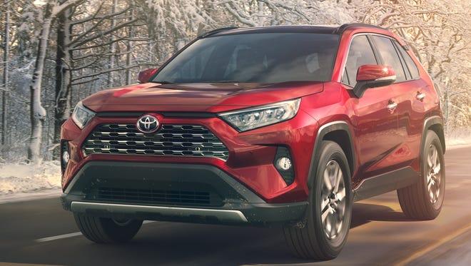 Toyota introduces its new RAV4