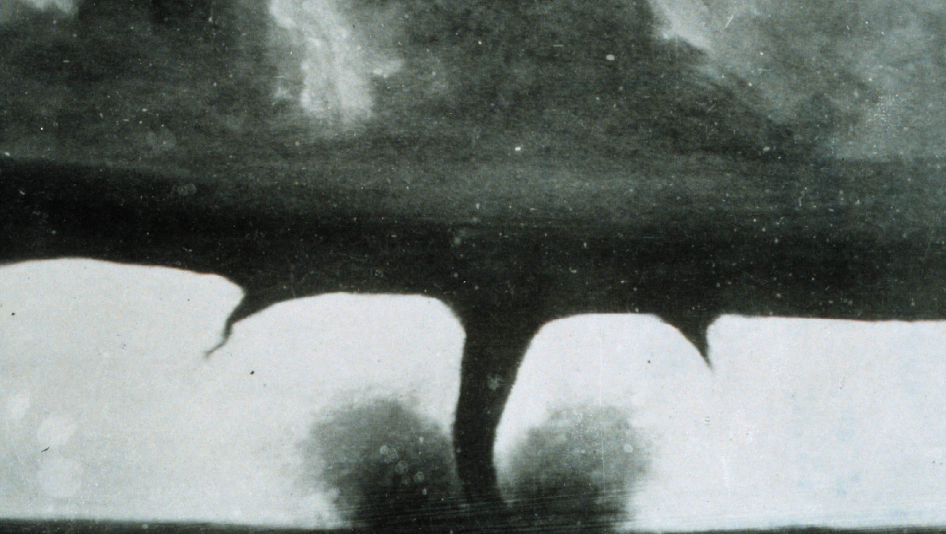 First Tornado Photos Taken 130 Years Ago