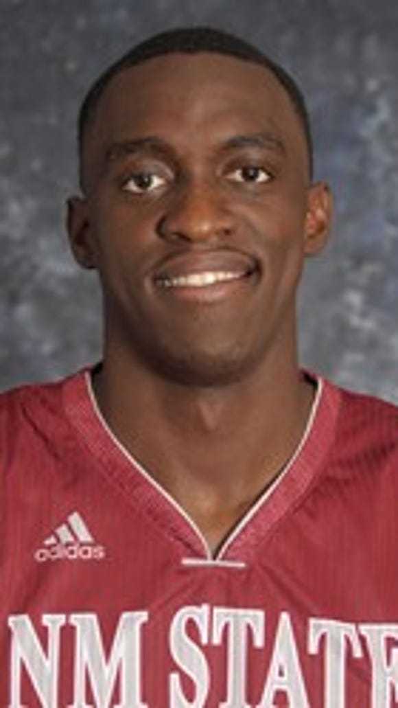 New Mexico State sophomore forward Pascal Siakam.