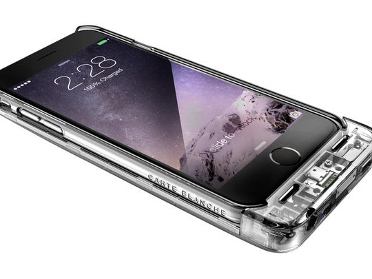 The Clear Boostcase provide iPhone 6 and iPhone Plus users with a transparent way to protect and charge their devices.