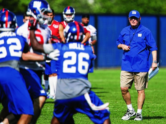 Giants Camp  Football