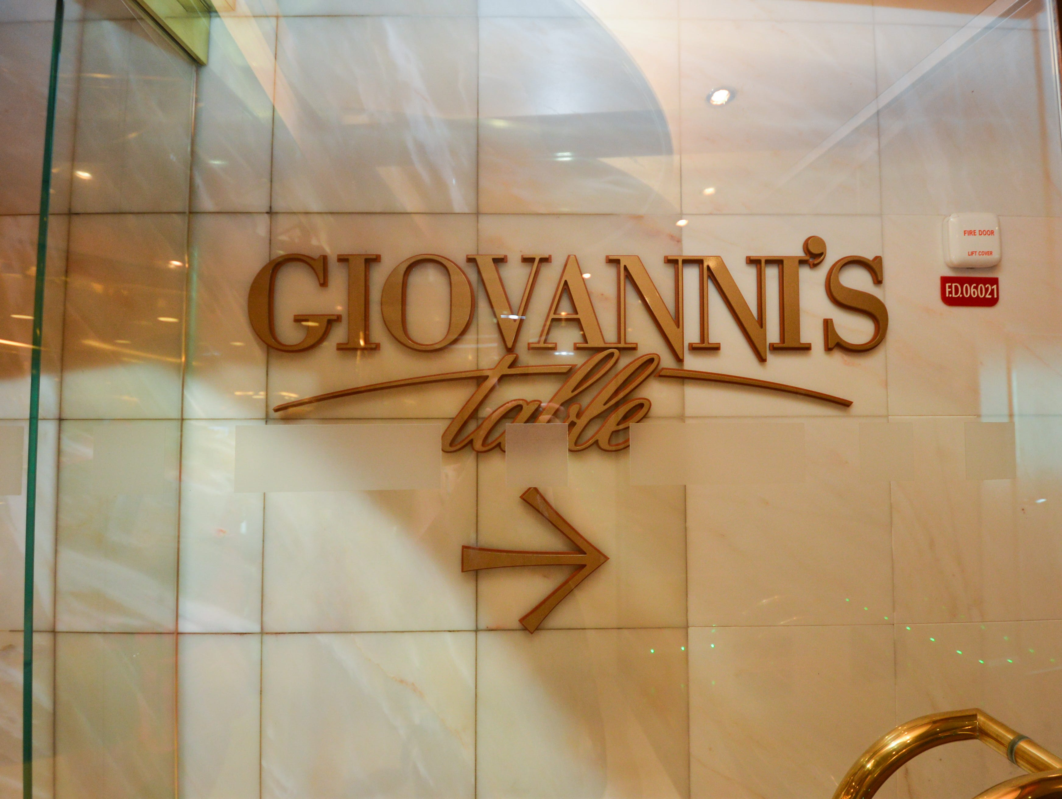 The 2012 overhaul of Grandeur of the Seas brought five new eateries that had previously debuted on other Royal Caribbean ships, including an 84-seat, extra charge Giovanni's Table Italian Trattoria ($15 per person for lunch; $20 for dinner).
