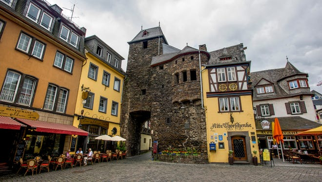 The medieval gate and in in Cochem, Germany.