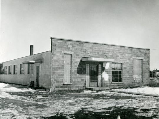 Greenheck's first factory, with three employees, was