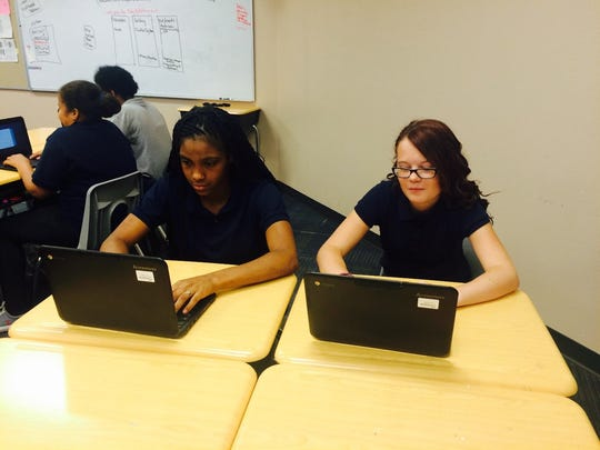 Students learn the tech tools of the trade on their