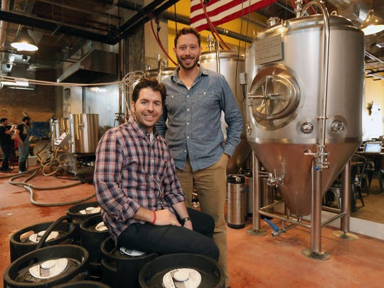 Nick Califano and John Rubbo, the co-founders of the