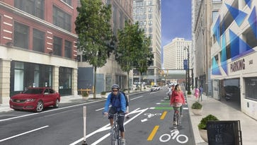 Numerous streetscape changes are planned for Detroit in coming months, including possibly bike lanes in Capitol Park.
