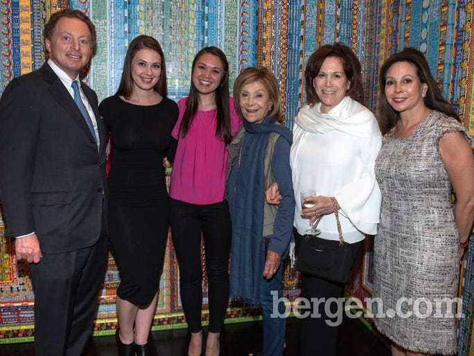 James Cohen, Sarah King, Stefanie Li, Janette King, Judy King and Lisa Cohen (Founder of Galerie) (Photo by Jeremy Smith)