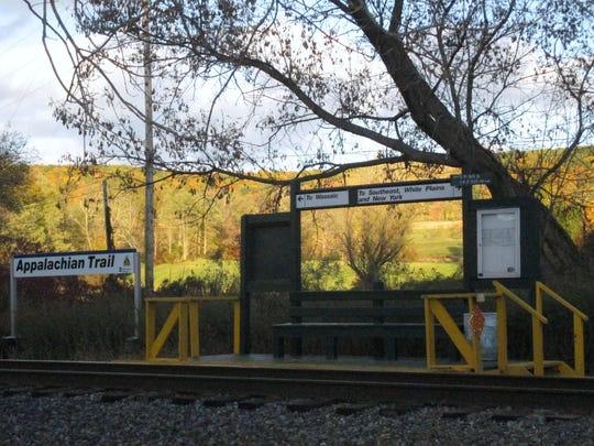 AT train stop