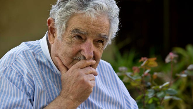 Jose Mujica, president of Uruguay, discusses the social changes in his country at his residence outside of Montevideo, Uruguay. Upon his election to office in 2010, President Mujica declined to live in the presidential residence, choosing instead to remain on his farm.