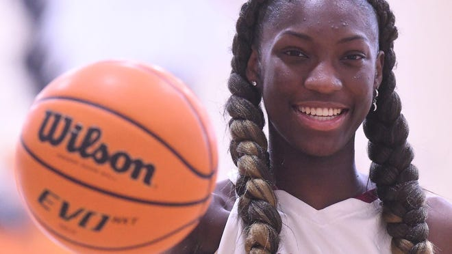 Ashley High School's Saniya Rivers is a three-time All-Area girls basketball player of the year and recently committed to South Carolina.