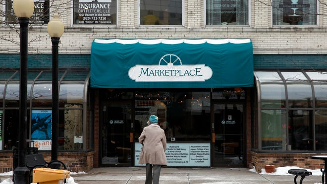 Future renovations of the Marketplace building in the center of downtown Neenah, Wis.,  include the former Aspen Coffee and the former Fresh restaurants.