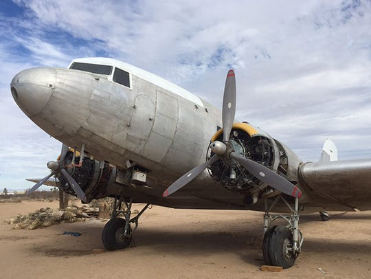 A Douglas DC-3 aircraft tied to the history of North
