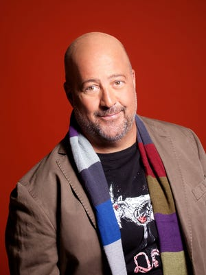 """""""Bizarre Foods America"""" host Andrew Zimmern and other celebrity chefs will cook at Adele's in a new Chef's Night Out series."""