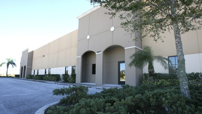 What was to be the home for the VR Labs bottling facility sits empty at the Alico Road Business Park.