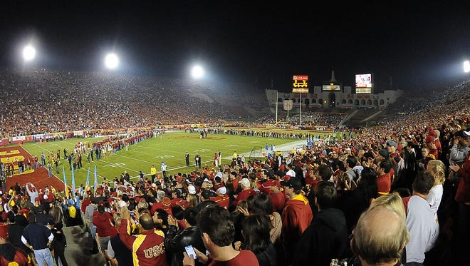 Nov. 26, 2011: General view of the Los Angeles Coliseum.