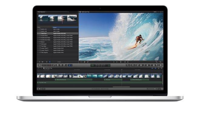 Apple's Macbook Pro with Retina Display.