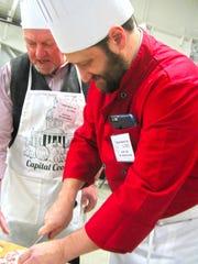 Tristan Toleno, a chef and state representative from