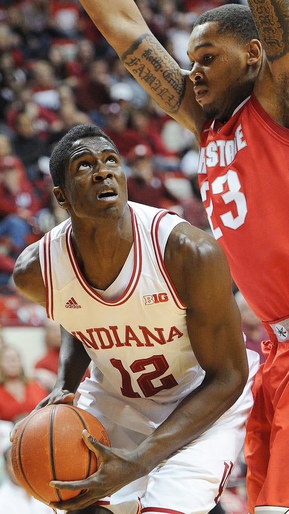 Rather than what it can expect, what does Indiana need from Hanner Mosquera-Perea (12) in the post this season?