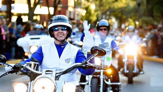The 23rd Annual York Bike Night Parade down Market Street in York City, Friday, Sept. 29, 2017. Dawn J. Sagert photo