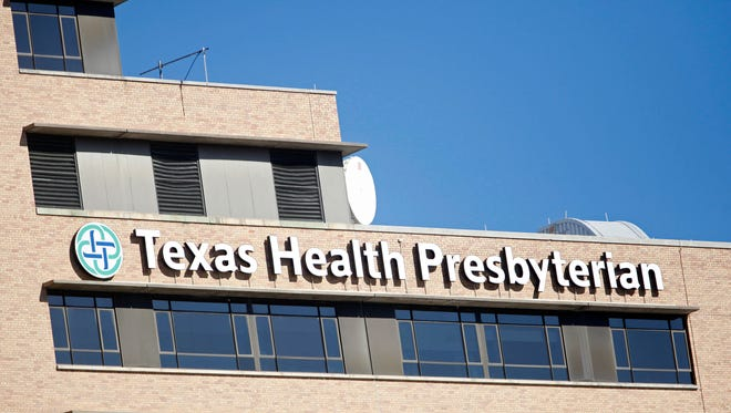 Doctors and nurses at Texas Health Presbyterian Hospital Dallas cared for Ebola patient Thomas Eric Duncan.
