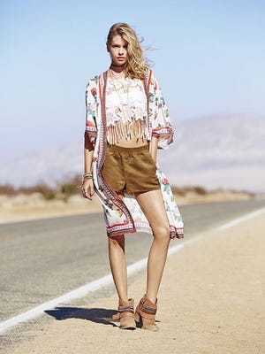 """H&M Loves Coachella"" collection hits North American stores March 19."