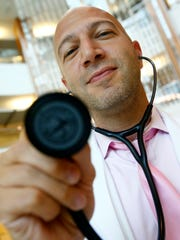 Dr. Jason Nehmad, a primary care doctor at Jersey Shore University Medical Center, is shown at the facility in Neptune Monday, September 11, 2017.