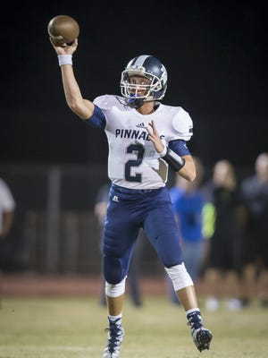 Phoenix Pinnacle junior Spencer Rattler is ranked as the nation's No. 1 quarterback in the 2019 class in the 247Sports composite rankings.