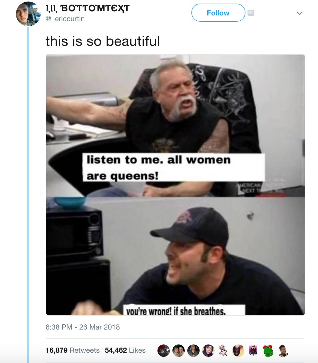 636586036273036312 Screen Shot 2018 04 06 at 9.26.55 AM the 'american chopper' meme featuring paul teutul and son, explained