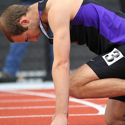 Tobias Muellers won the decathlon at the NCAA Division