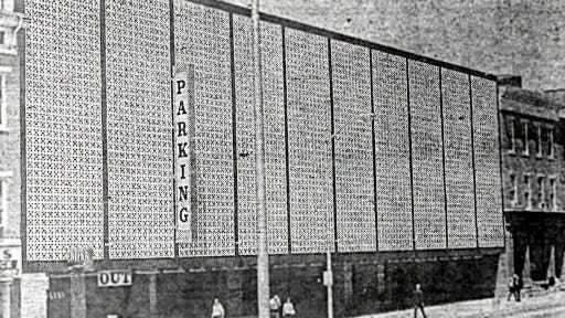 The East Market Street parking garage opened to downtown York applause in 1969. It was built to meet a need for parking in the eastern section of the downtown.
