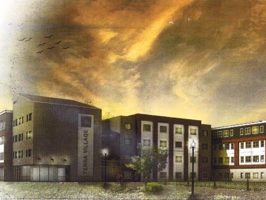 Terra Village, a $14.5 million student housing facility,