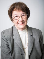 Juanita Garrison, seen here in a 2017 Independent Mail portrait, died Thursday, Sept. 5, 2019. She was 86.