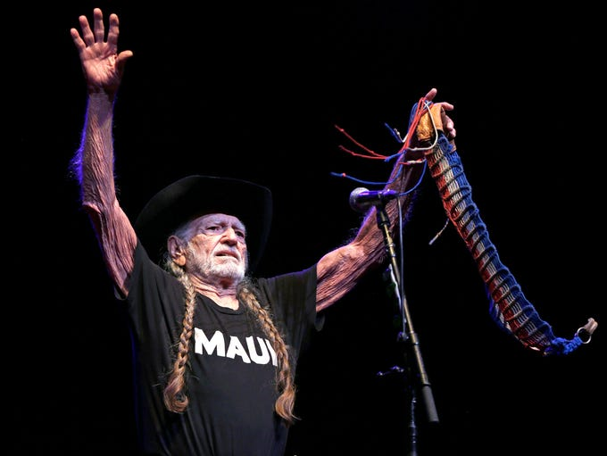 Willie Nelson performs June 29, 2016 at the BMO Harris
