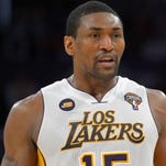 Could Metta World Peace be back with the Los Angles Lakers?