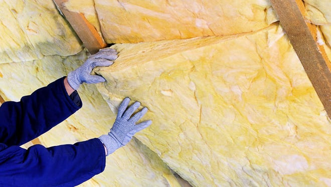you can save money on heating if you make sure your attic is properly insulated.