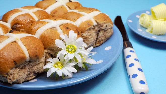 Eating Hot Cross Buns is a tradition on Good Friday.
