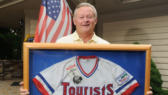 Former Asheville Tourists general manager and president