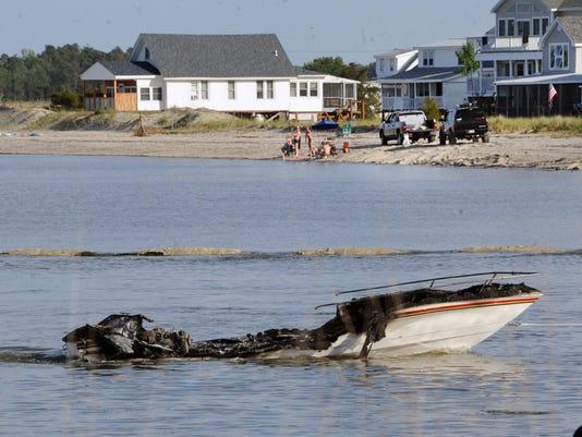 Bowers boat close