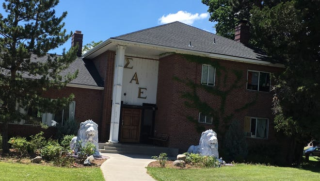 Sigma Alpha Epsilon house in Reno