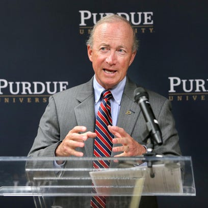 Purdue University President Mitch Daniels announced Thursday the university's plan to open the new Purdue Polytechnic High School to provide a bridge for inner-city students and others to succeed in high school and to be admitted directly to Purdue upon graduation. The facility is set to open in downtown Indianapolis in August 2017.