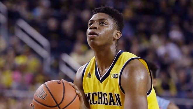 Michigan guard Kameron Chatman.