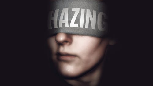 Hazing is illegal in 44 states.