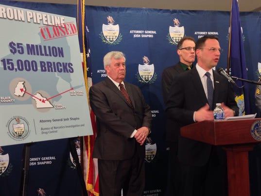 Heroin pipeline from York to Altoona