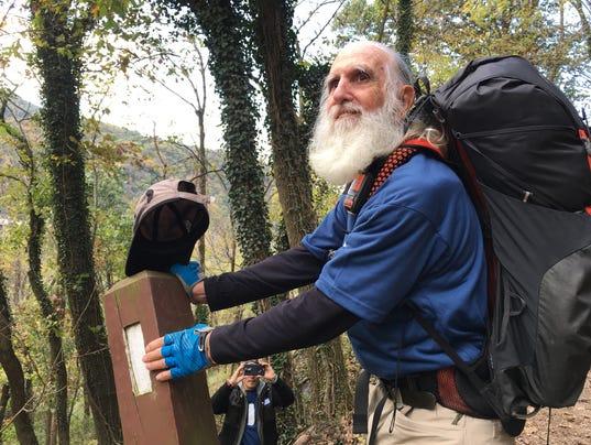 Oldest Appalacian Trail hiker