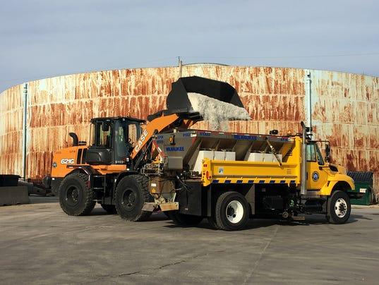 Milwaukee salt truck
