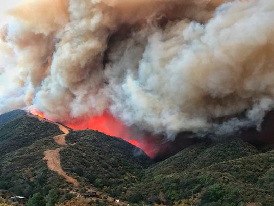 AP CALIFORNIA WILDFIRES A WEA USA CA