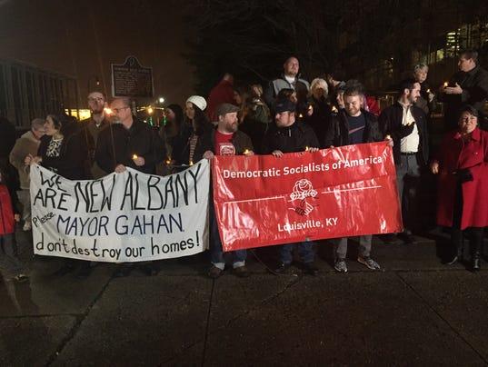 New Albany Rally