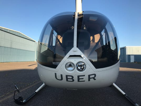 Uber Offering Helicopter Rides Around University Of Phoenix Stadium