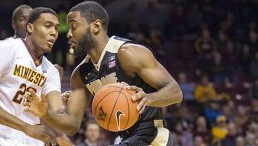 College basketball: Purdue vs. Minnesota